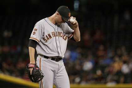 Giants need to get struggling relief stalwart Tony Watson 'back on track'