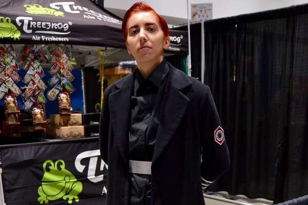 "Elise as General Hux from ""Star Wars"" at Silicon Valley Comic Con in San Jose, California on Friday, August 16, 2019."