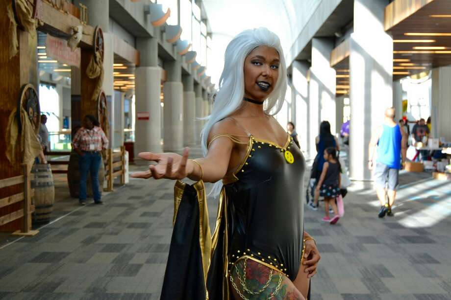 X-Men, Avengers and the Alien: Cosplayers hit Silicon Valley Comic Con