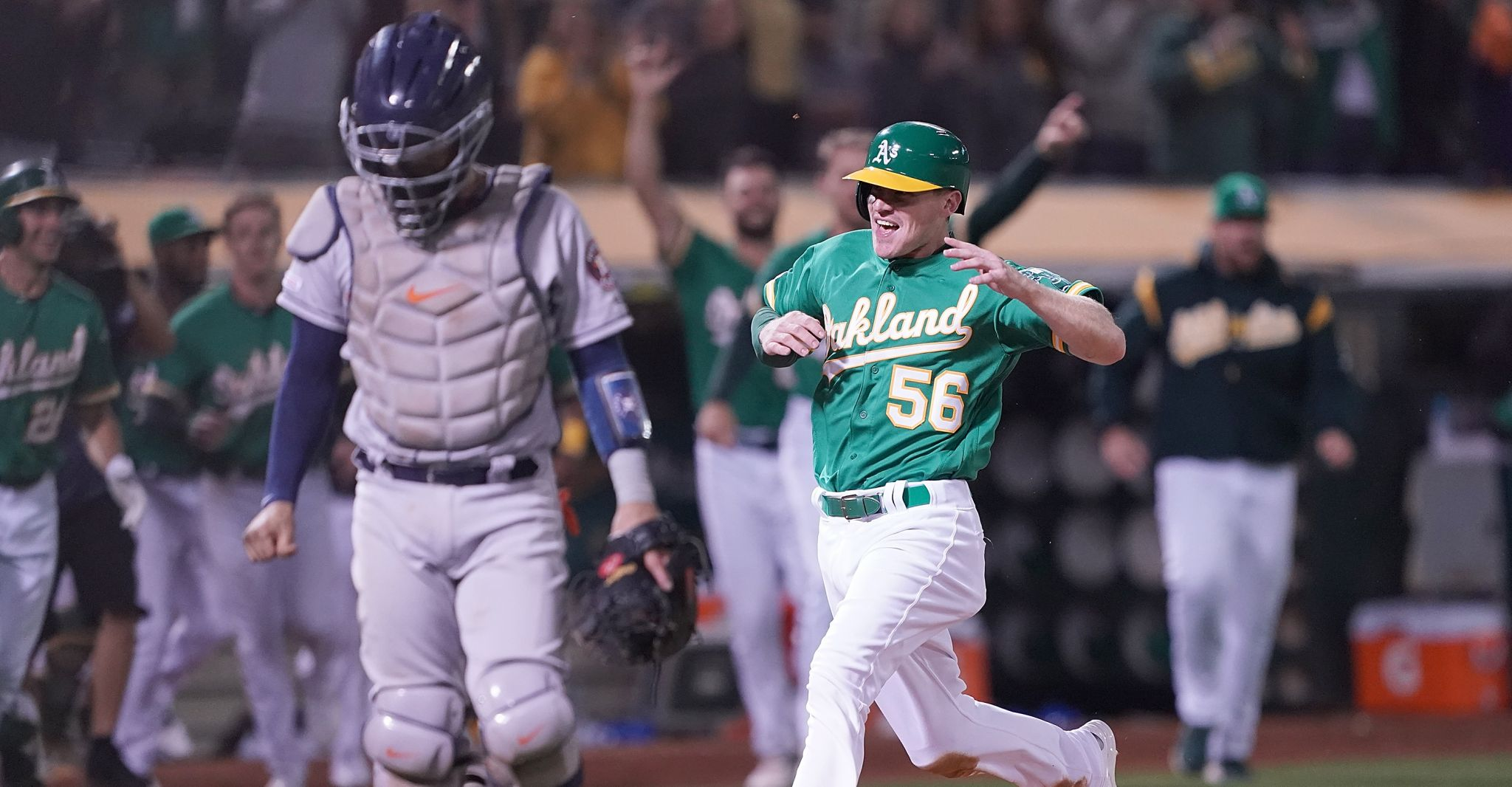 Astros drop 13-inning marathon to Athletics for 4th loss in a row