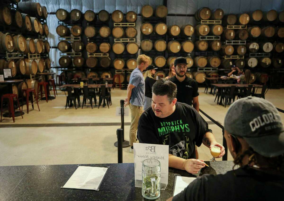 B52 Brewery offers more sour beers to customers than any other local breweries, with roughly a dozen on tap at any given time.