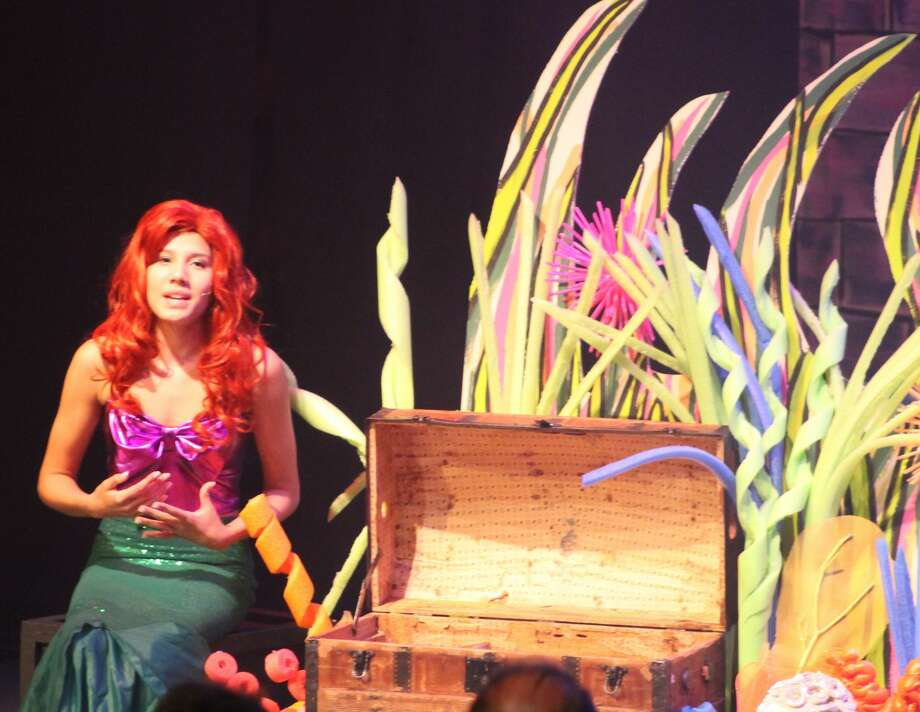 Students of the Warner Theatre's Center for Arts Education Summer Arts Program performed Disney's Little Mermaid Jr. Friday evening at the Warner's Nancy Marine Studio Theatre in Torrington. It was one of four performances scheduled for the weekend. Photo: CT, Theatre, Little Mermaid