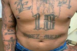 U.S. Border Patrol agents from the Hebbronville encountered this wanted 18th Street gang member on June 28.
