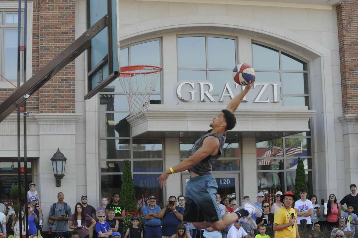 Scenes from Saturday's Gus Macker in downtown Midland.