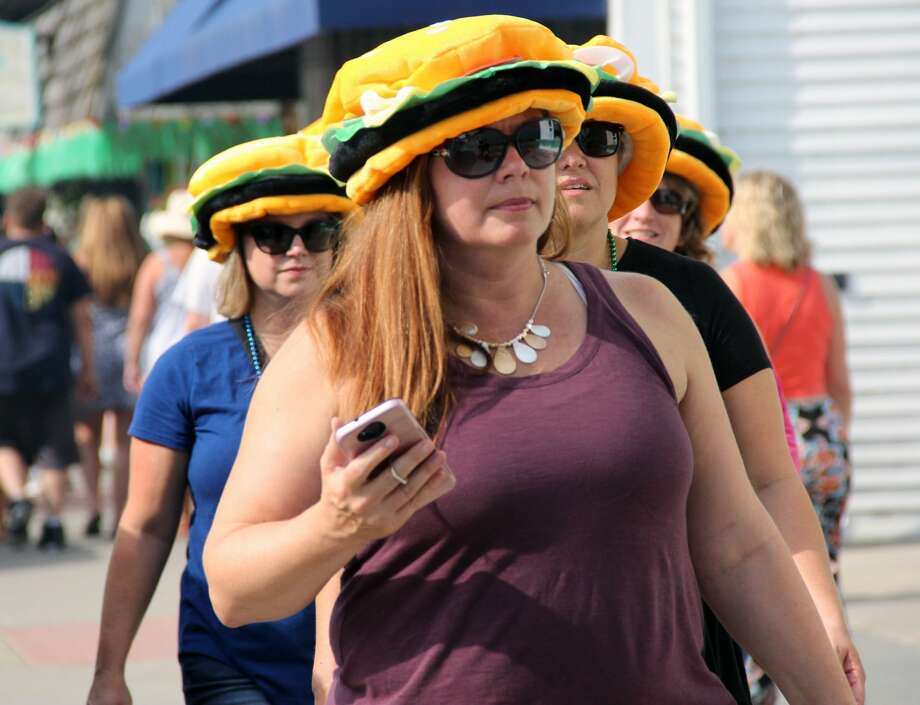 The final day of the Cheeseburger in Caseville  festival on Saturday brought crowds, traffic and steamy weather. Photo: Mark Birdsall/Huron Daily Tribune