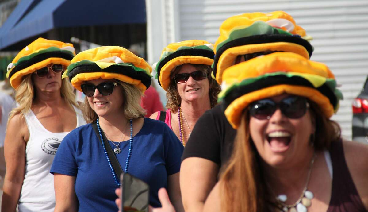 The final day of the Cheeseburger in Caseville festival on Saturday brought crowds, traffic and steamy weather.
