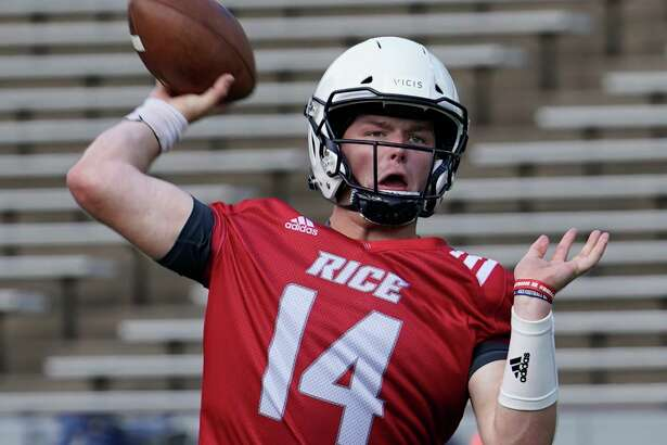 Embroiled in a three-way battle for the starting quarterback job, Tom Stewart takes his turn trying to impress the coaches.