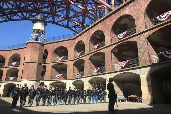 Fort Point hosts Civil War re-enactment in San Francisco