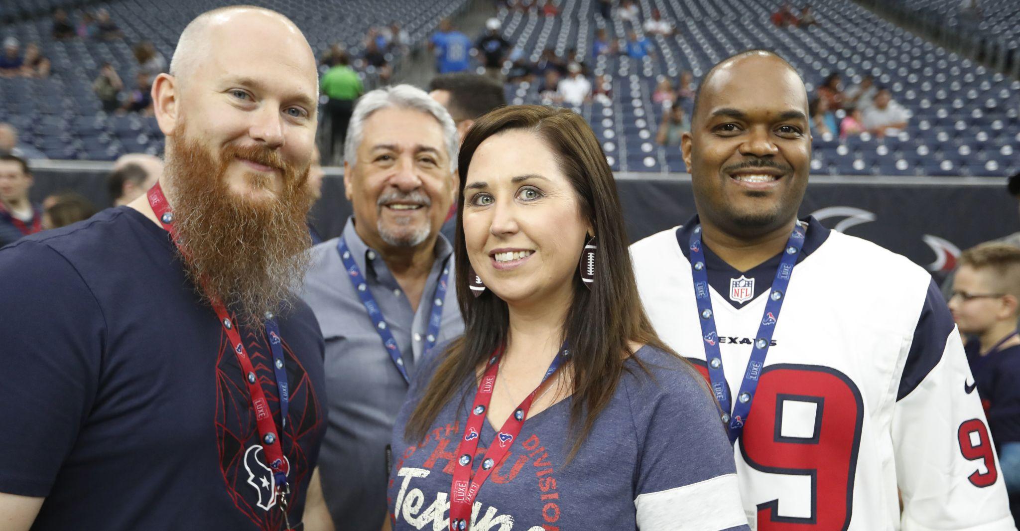 Photos: Fans at Texans-Lions preseason game