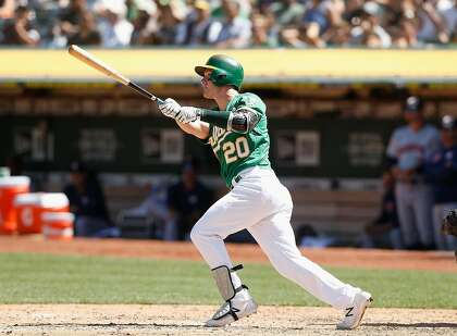 A's Mark Canha keeps contributing everywhere