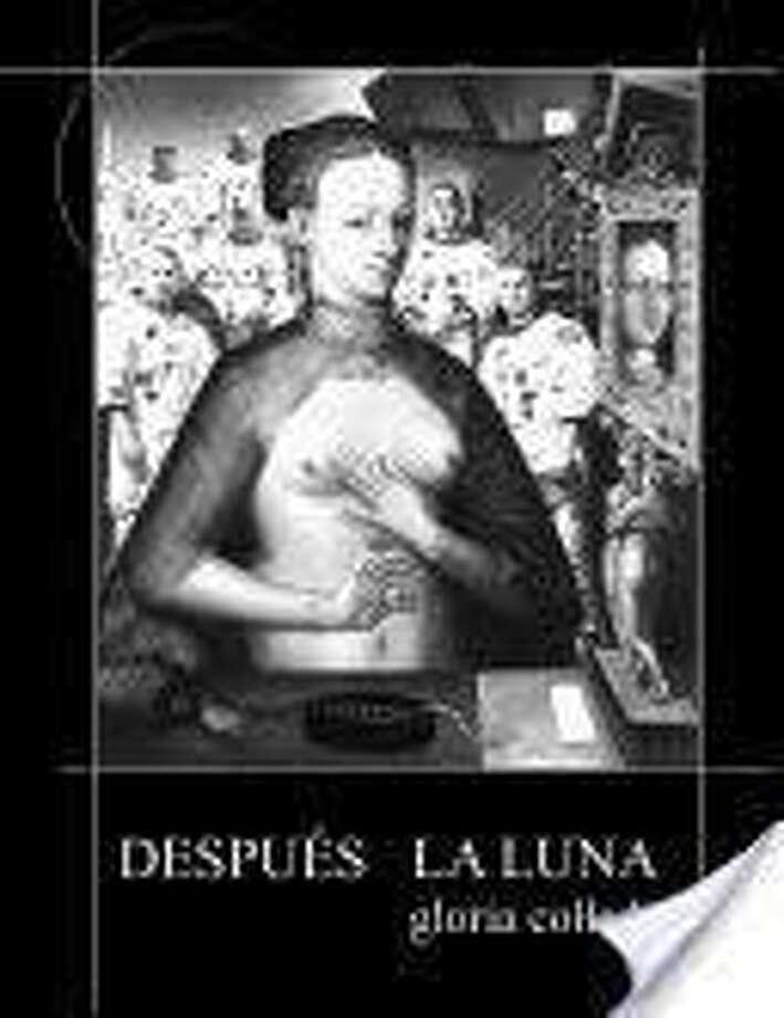 """Portada del libro de Gloria Collado, """"Después la luna"""" (1987), Edición digital: Perro Triste (2018). Photo: /"""