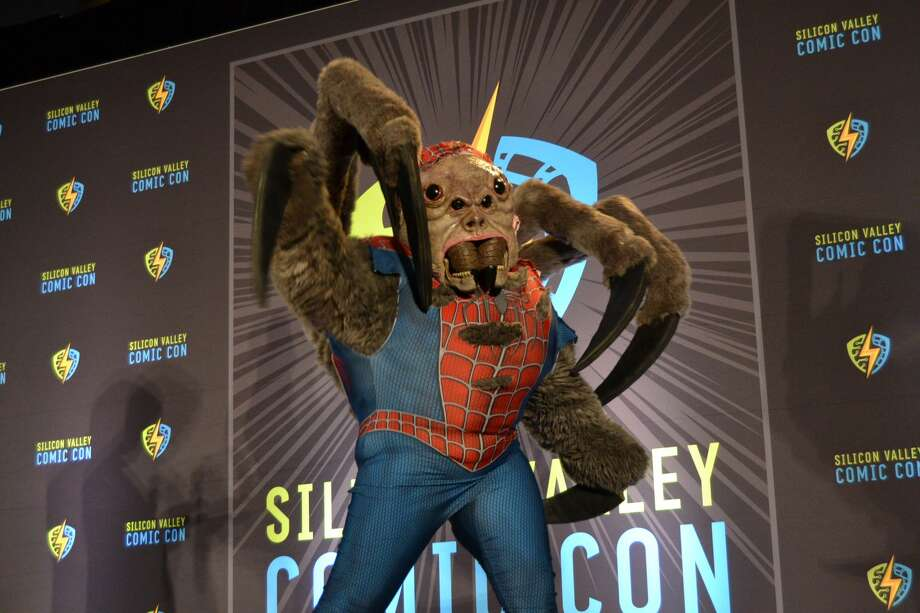Contestants compete at Silicon Valley Comic Con's 2019 Cosplay Costume Contest on Saturday, August 17 in San Jose, California. Photo: Alyssa Pereira / SFGate