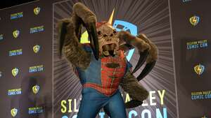 Contestants compete at Silicon Valley Comic Con's 2019 Cosplay Costume Contest on Saturday, August 17 in San Jose, California.