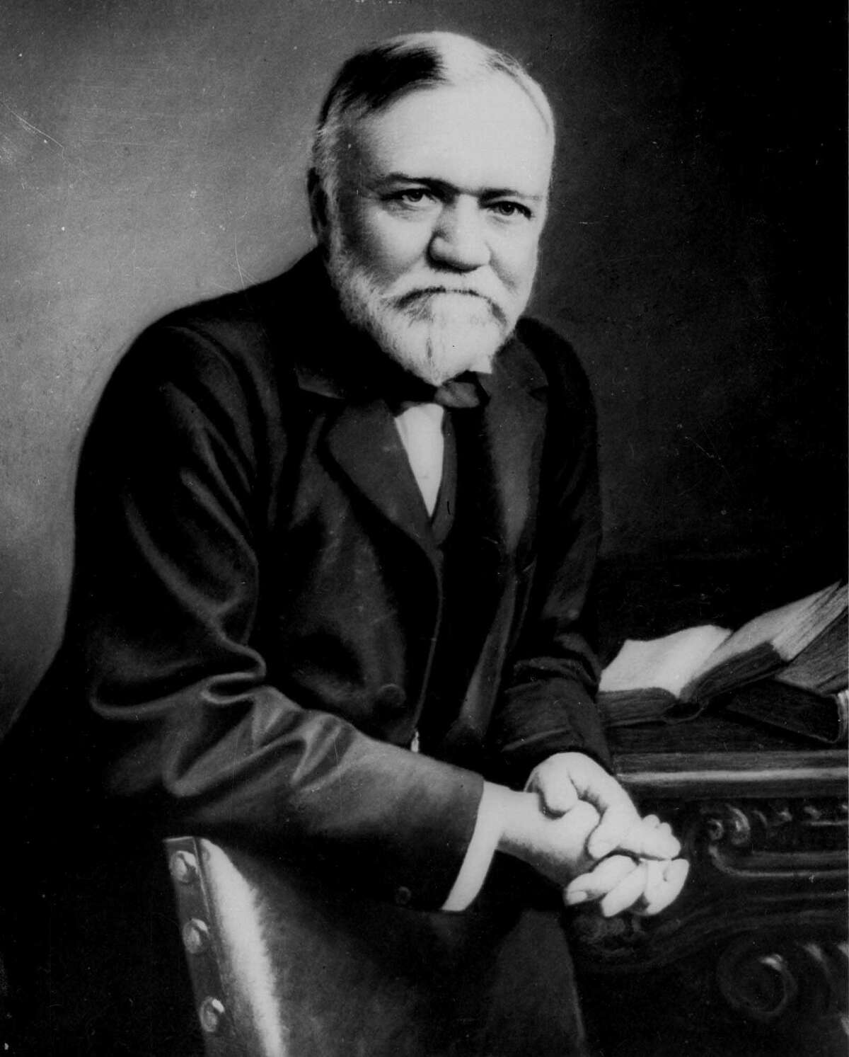 FILE--Steel magnate Andrew Carnegie, seen in this undated file photo, ranked second in an American Heritage magazine ranking of the 40 richest Americans of all time. The magazine calculated indivdual fortunes, adjusted for inflation, and ranked oil magnate John D. Rockefeller first at $190 billion. (AP Photo/File)