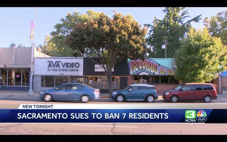 Sacramento files unusual suit to ban 7 people from neighborhood