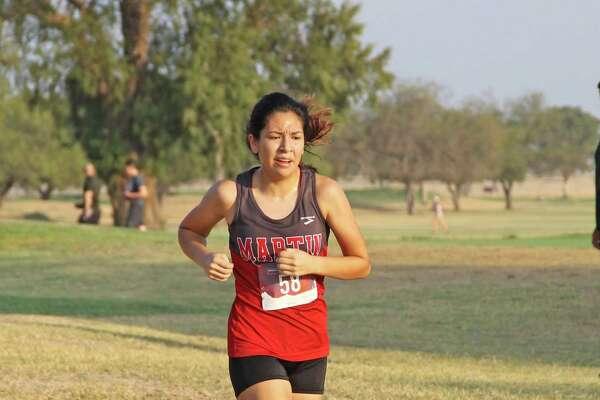 Martin's Samantha Gonzalez won the Border Olympics 5A/6A individual girls' title Saturday.