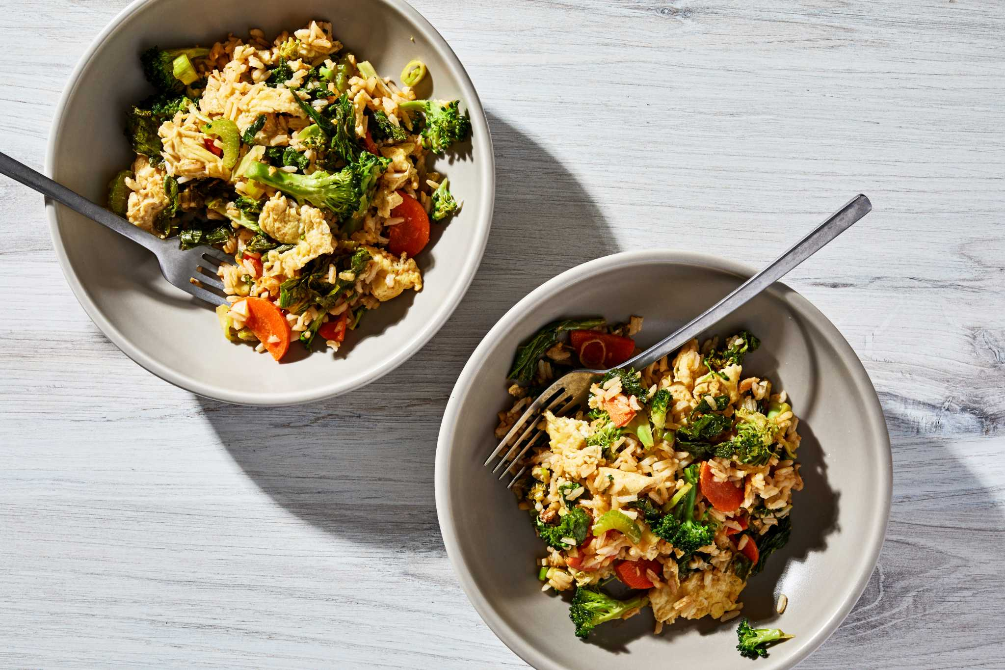 Fried rice was made for those containers of leftover takeout in your fridge