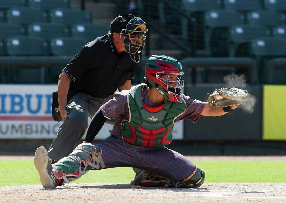 The Woodlands catcher Drew Romo was selected to the USA Baseball 18U National Team. Photo: Jason Fochtman, Staff Photographer / Houston Chronicle / © 2018 Houston Chronicle