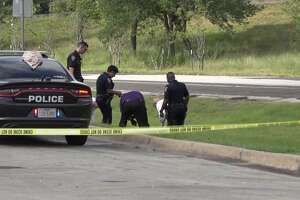 The body of a dead man was found in the ditch between a Cleveland Walmart and U.S. 59 Sunday morning, according to the Montgomery County Police Reporter.