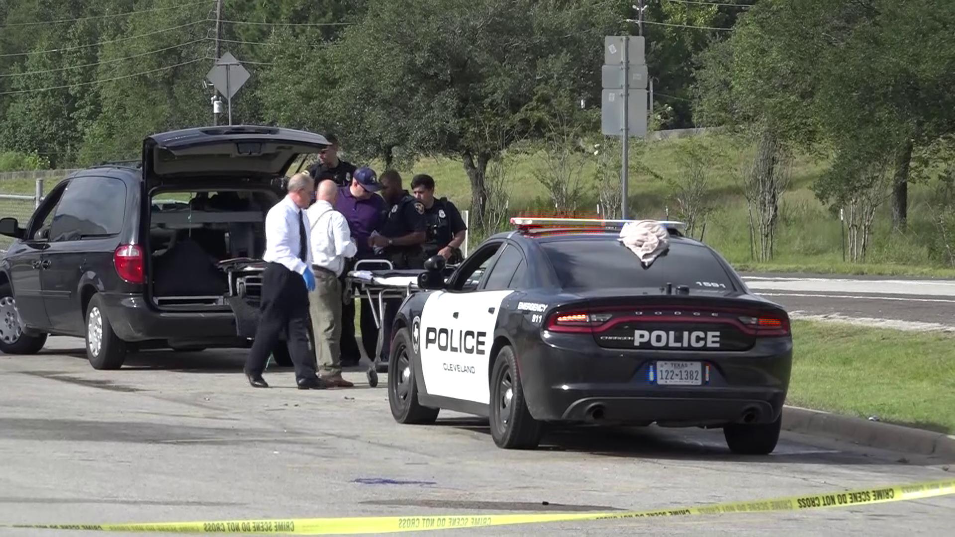 Dead man found in ditch next to Cleveland Walmart
