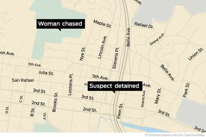 Police arrest sex offender who chased three women in San Rafael