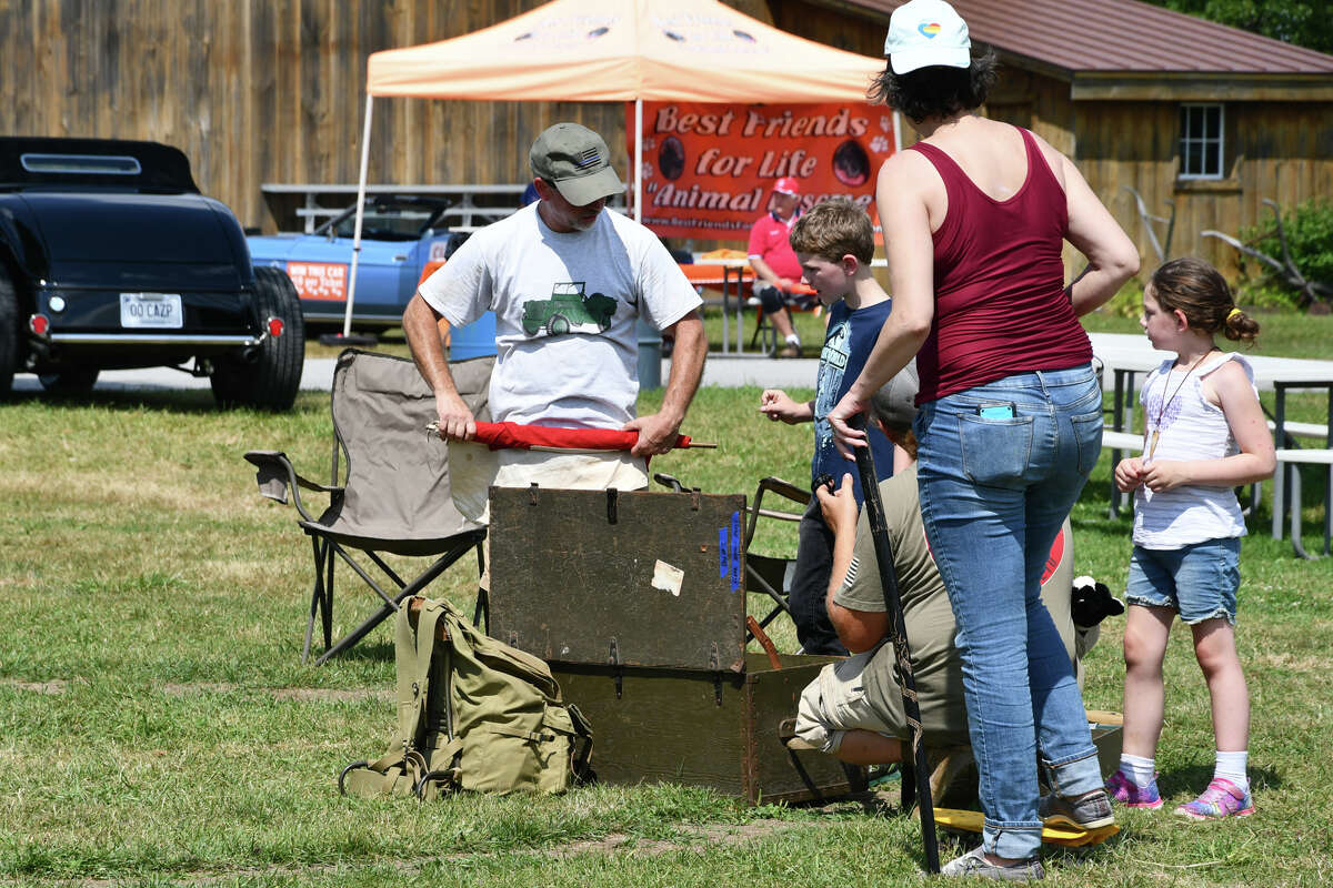 The Litchfield Hills Historical Automobile Club held its 44th Annual Auto Show and Swap Meet at Goshen Fairgrounds on August 18th. A flea market. food and an indoor Model T display was enjoyed by spectators. Peoples Choice awards were presented.