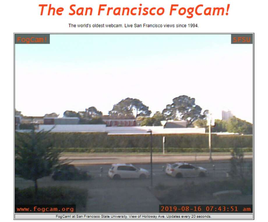 "The world's oldest continually operating webcam is based in San Francisco. After 25 years running, co-creator Jeff Schwartz says FogCam is ""shutting down forever."" Photo: Courtesy Of FogCam"