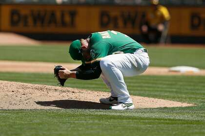 No sweep: A's finally fall to Astros