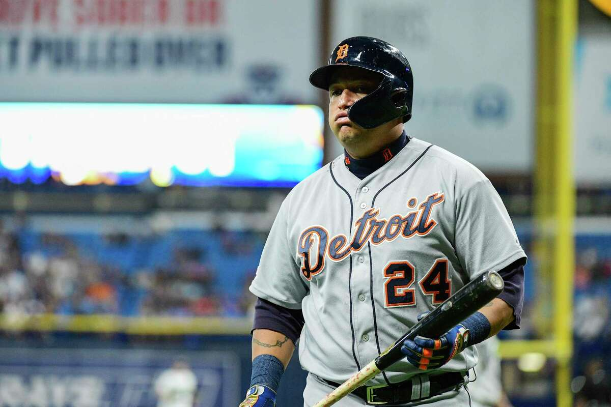 A former Triple Crown winner, Miguel Cabrera is slashing a mere .278/.339/.390 for the majors' worst team this season and has struck out in seven of his last nine at-bats.