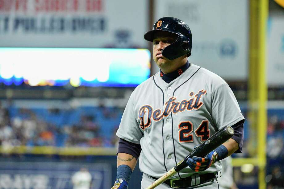 A former Triple Crown winner, Miguel Cabrera is slashing a mere .278/.339/.390 for the majors' worst team this season and has struck out in seven of his last nine at-bats. Photo: Julio Aguilar, Stringer / Getty Images / 2019 Getty Images