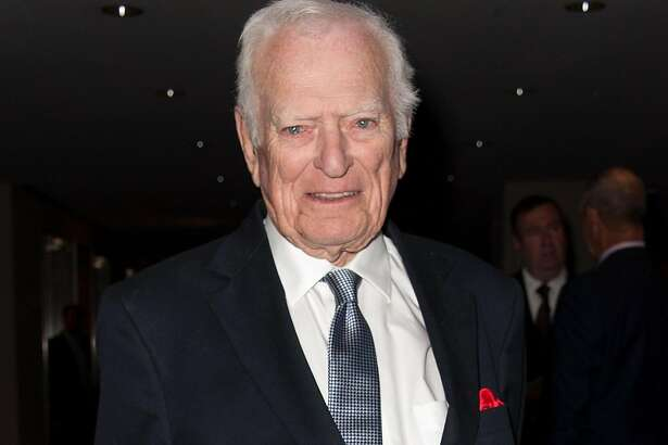 FILE - 18 AUGUST 2019: Sportscaster Jack Whitaker, 95, has died of natural causes in Devon, Pennsylvania. NEW YORK, NY - APRIL 30: Sports broadcaster and Lifetime Achievement Award winner Jack Whitaker attends the 33rd annual Sports Emmy awards at Frederick P. Rose Hall, Jazz at Lincoln Center on April 30, 2012 in New York City. (Photo by D Dipasupil/Getty Images)