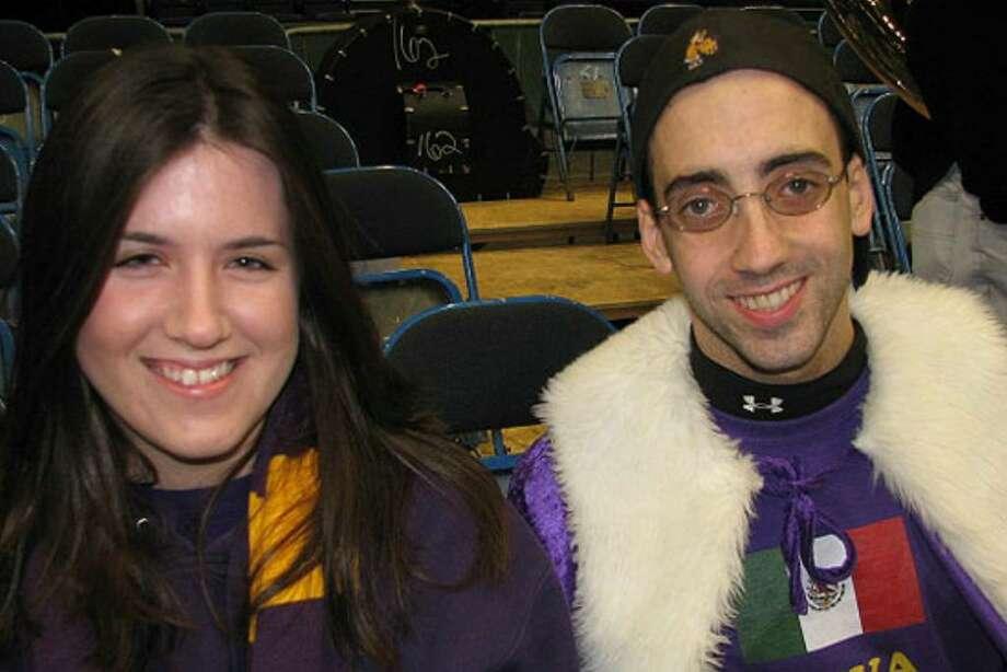 Were you seen at 2008 Dec. 6 Siena vs. UAlbany? Photo: Kristi L. Gustafson