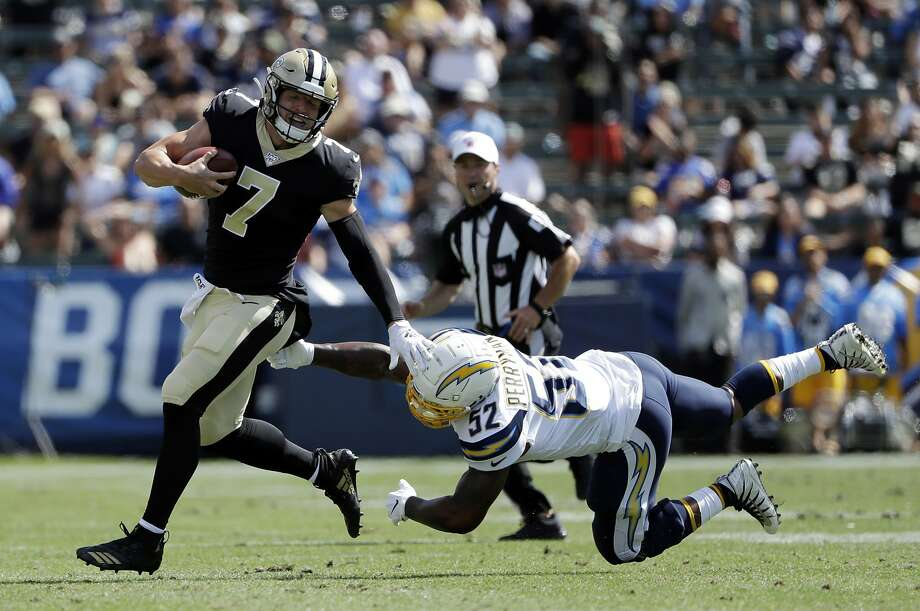 NFL roundup: Taysom Hill rallies Saints to 19-17 victory over Chargers