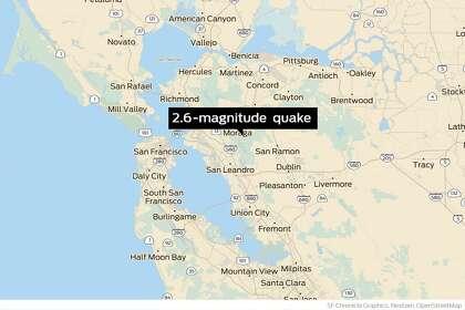 Small quake hits East Bay
