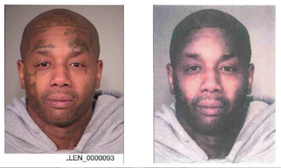 Tyrone Lamont Allen's mugshot was altered to remove his tattoos. Photo: U.S. District Court In Oregon / The Washington Post