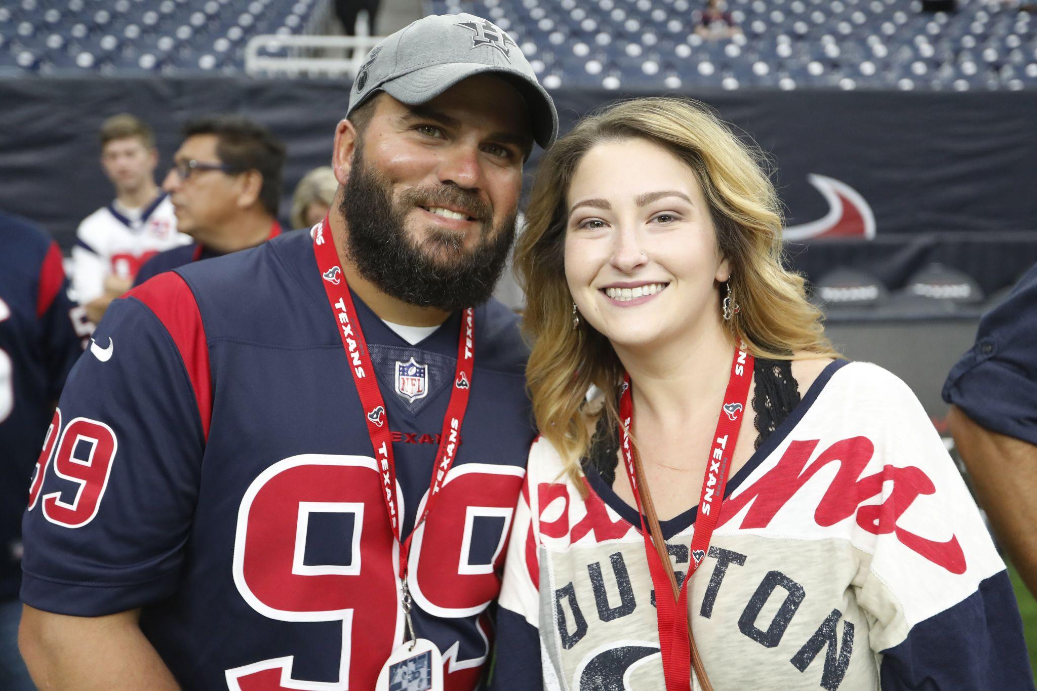 Texans fans flock to NRG Stadium for preseason action against Lions