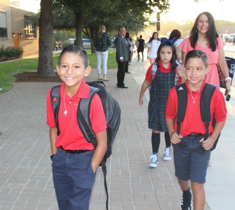 St. Ann's students return for the 2019-2020 school year. Photo: Courtesy Photo
