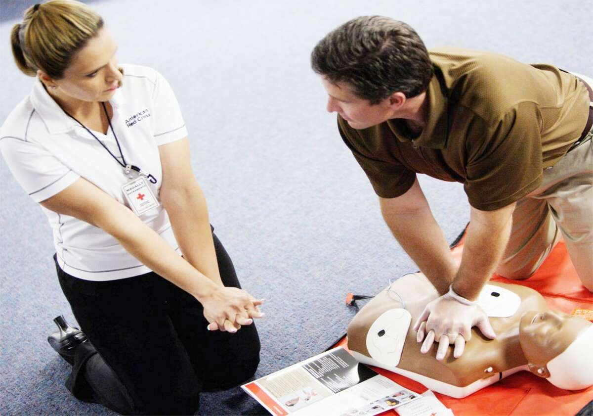 Learning to Save Lives: The first CPR/AED class will start Jan. 6. (Red Cross courtesy photo)