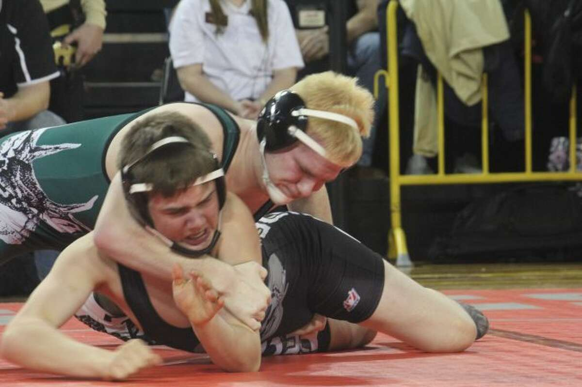Bryan McCurry had a big day for Pine River at Reed City.