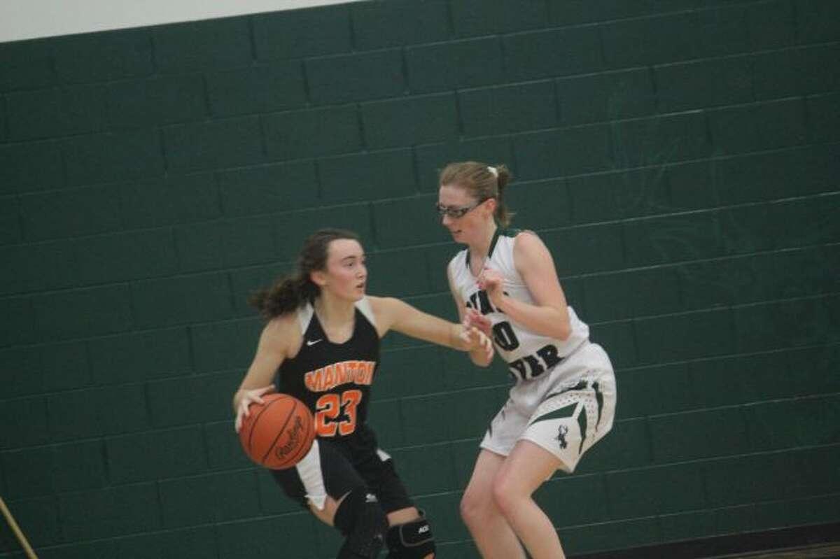 KayLee Goodman (right) is in her senior season.