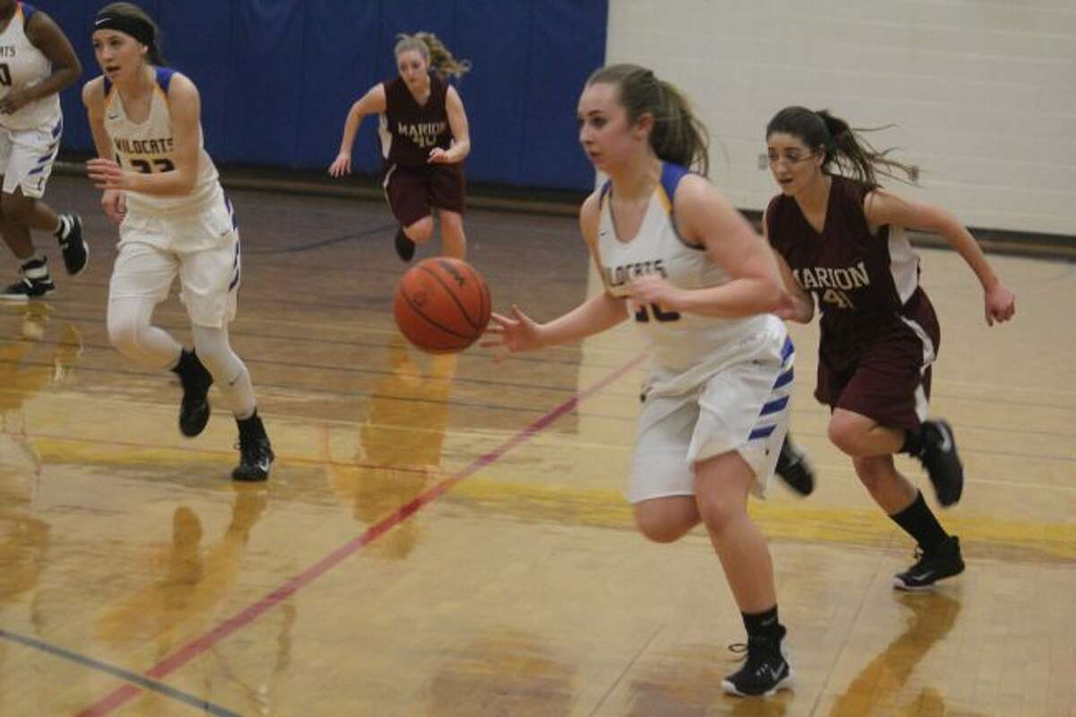 Evarts girls basketball team is on the move.