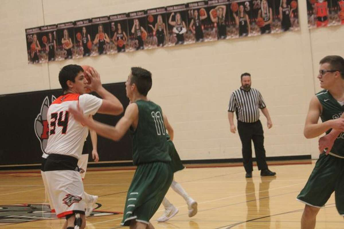 Anthony Pelton had a strong junior season for Reed City.
