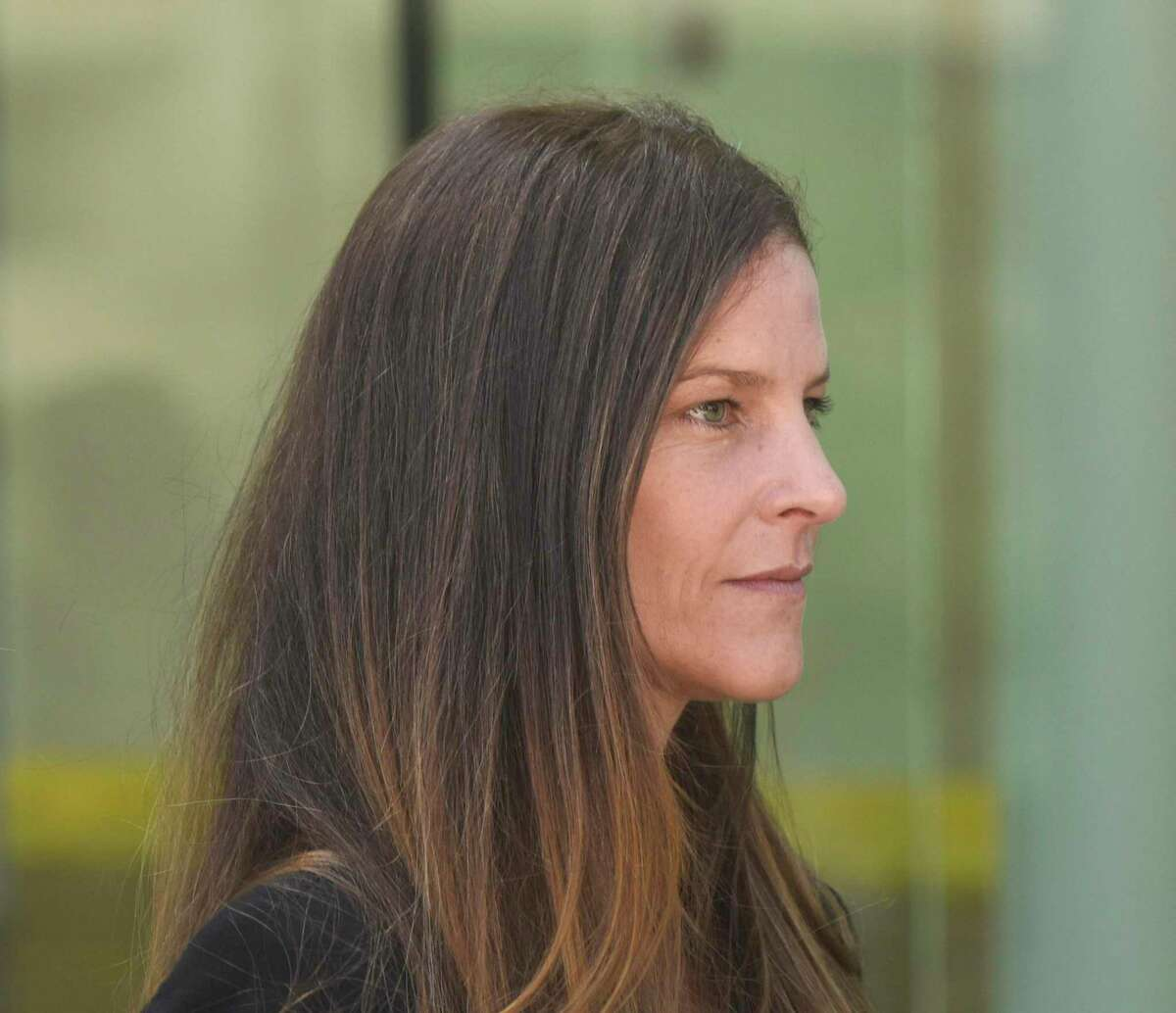 Michelle Troconis is seeking to have her electronic monitoring device removed while free on $2.1 million bond in the Jennifer Dulos case.
