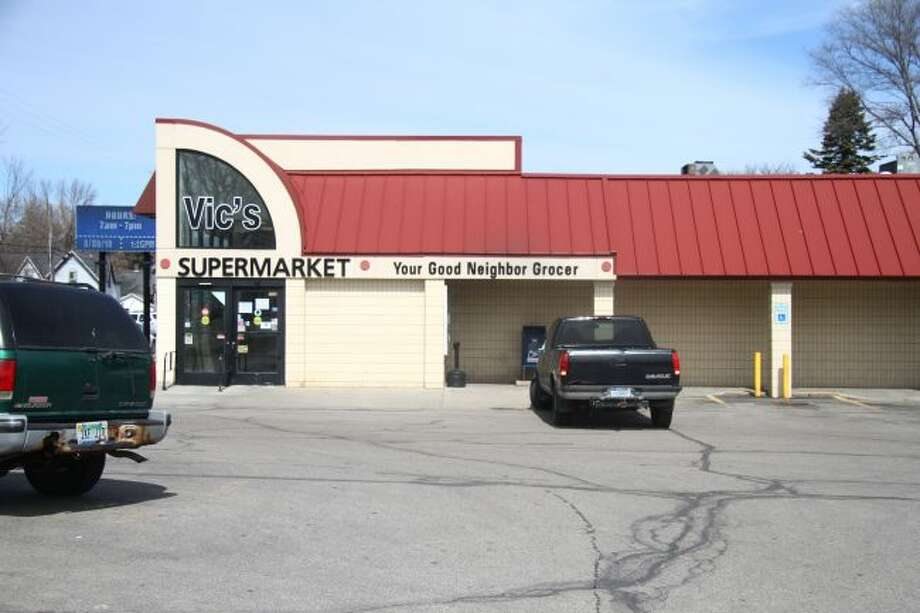 Vic's Supermarket in Reed City is set to close its doors next week. The grocery store has been in Reed City for more than 50 years. (Herald Review photo/Emily Grove)