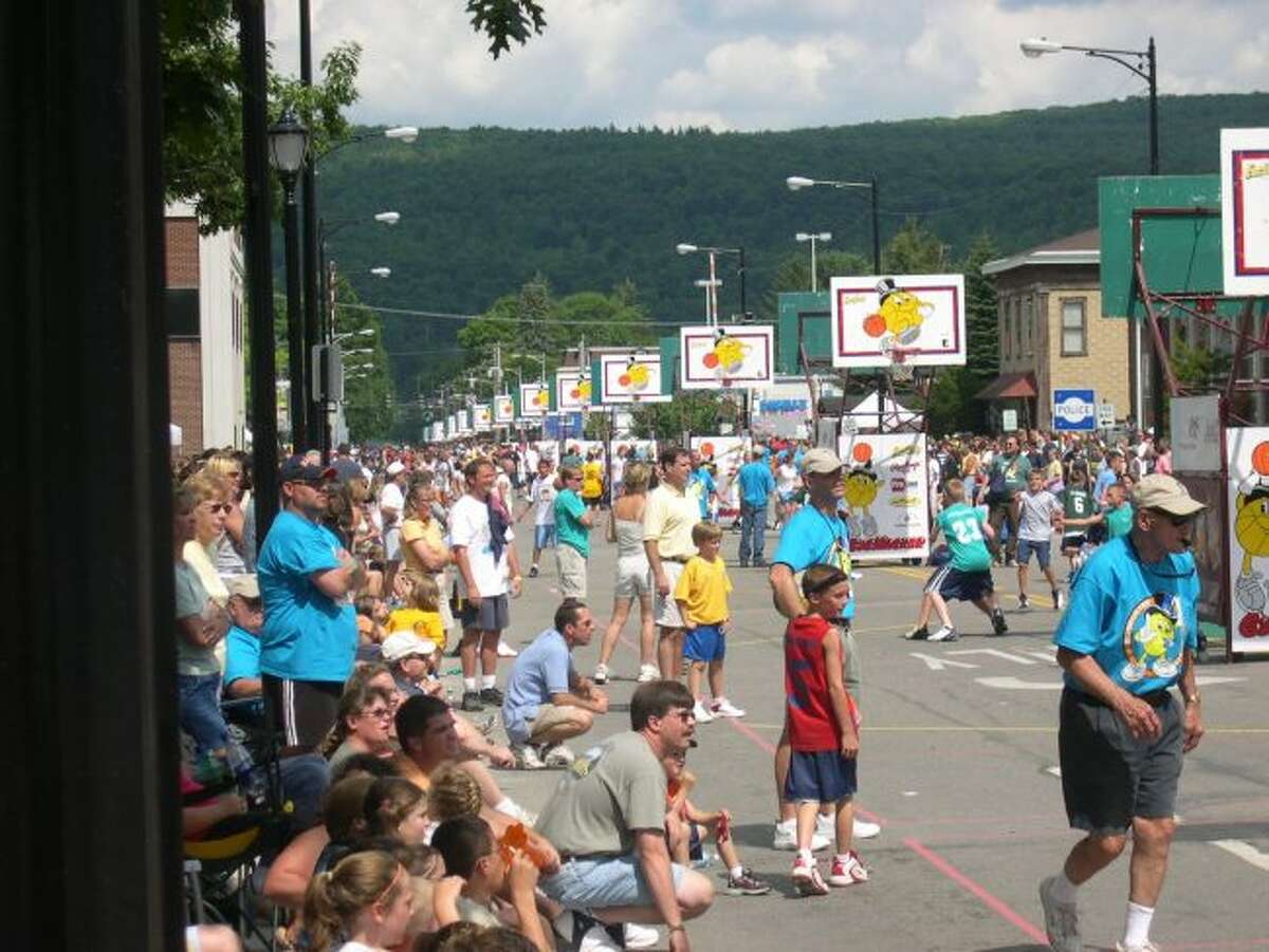 Gus Macker is coming to the area.