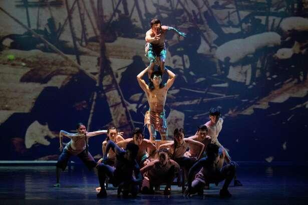 "Miller Outdoor Theatre presents ""Formosa Circus Art."""