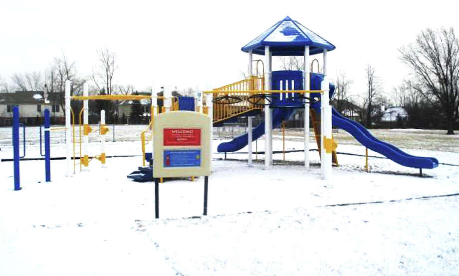 NEW EQUIPMENT: The city of Evart secured $90,000 worth of playground equipment for $9,000. The equipment will be placed in Riverside West park (Courtesy photo)