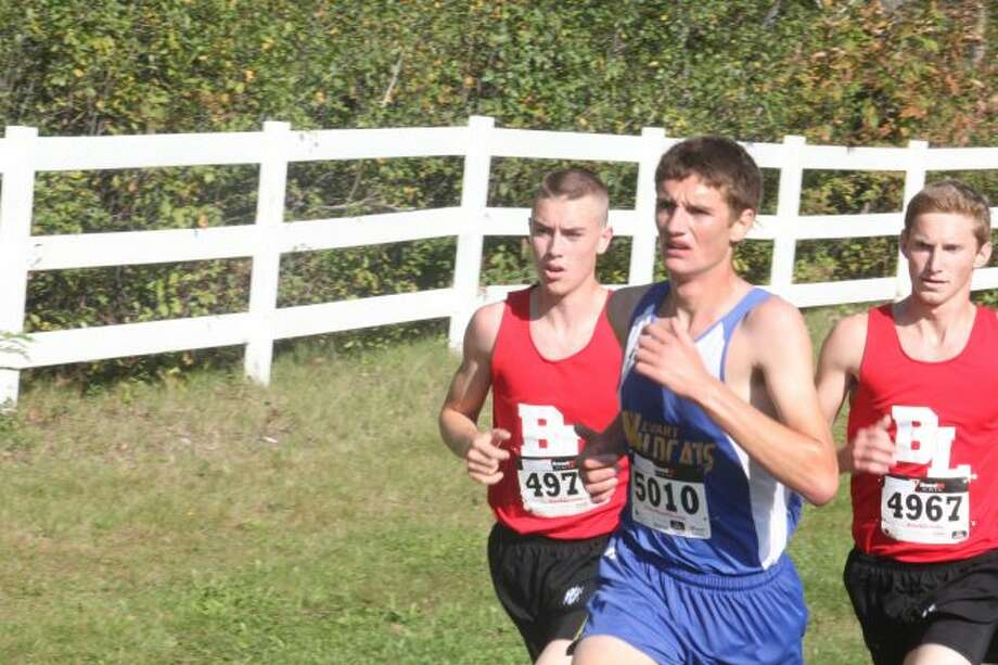 Josh Woods is having a strong season in distance races for Evart.