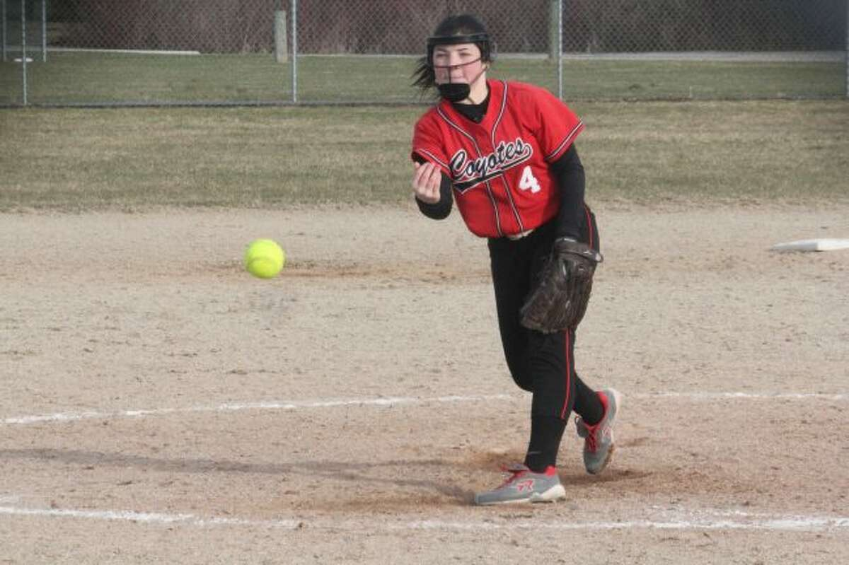 Maddie Morgan threw a three-hitter in the county tournament title game.
