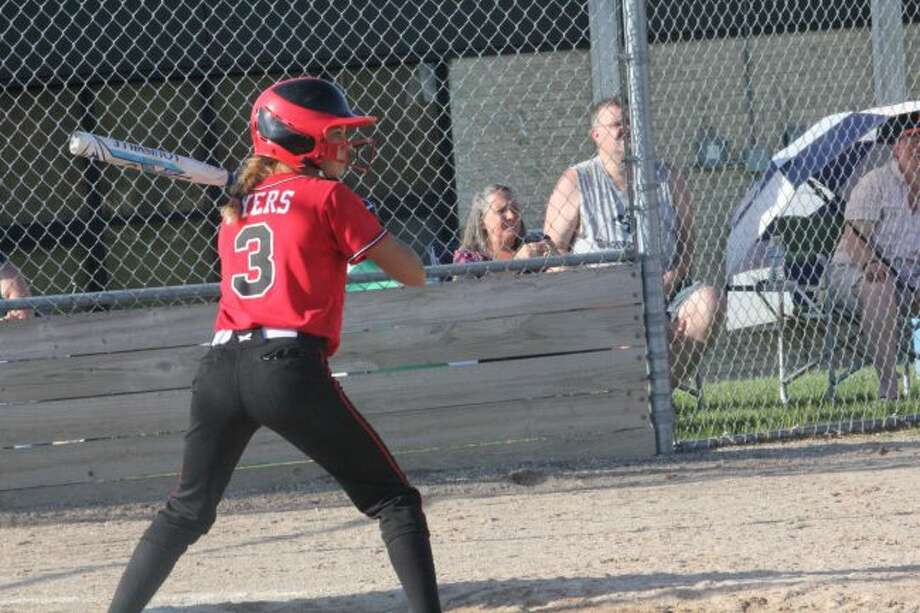 Kamryn Myers was a key softball player for Reed City this season.